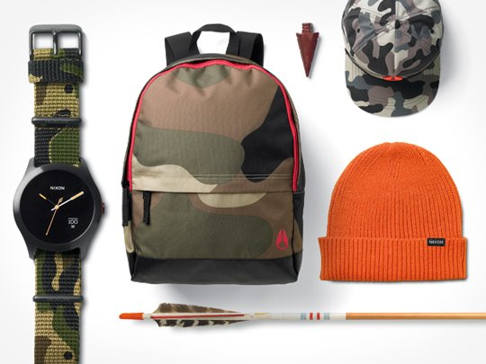 Nixon | The Camo Collection