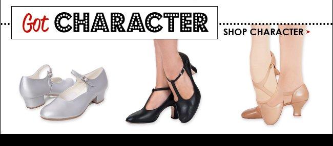 Shop character shoes