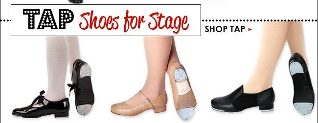 Shop tap shoes.