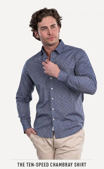 THE TEN-SPEED CHAMBRAY SHIRT