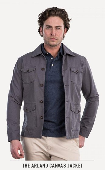 THE ARLAND CANVAS JACKET