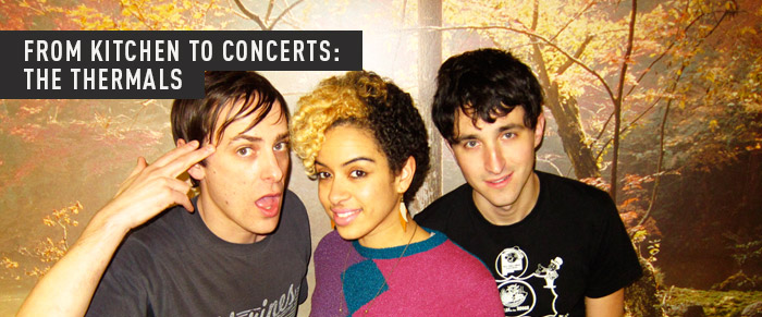 FROM KITCHENS TO CONCERTS: THE THERMALS