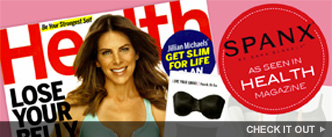 Spanx as seen in Health Magazine. Check it out!