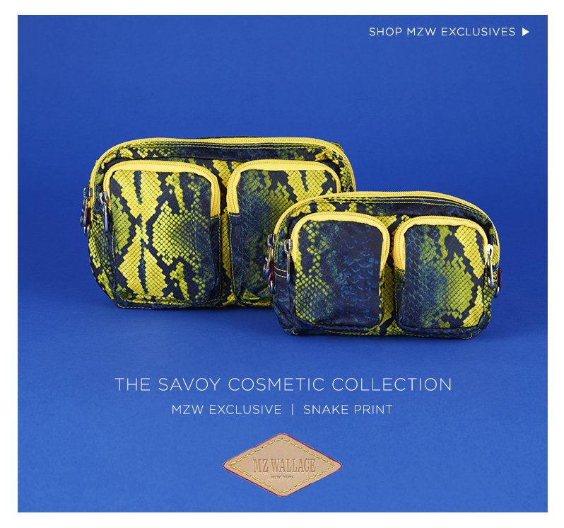 The Savoy Cosmetic Collection, MZW Exclusive | Snake Print