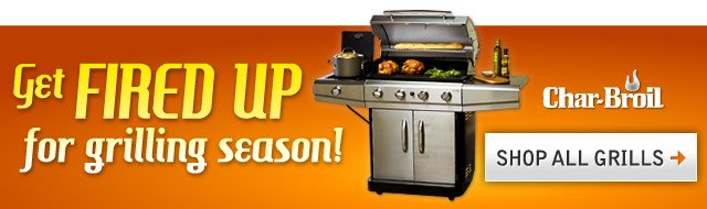 Get Fired Up for Grilling Season