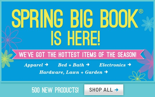 Spring Big Book is Here