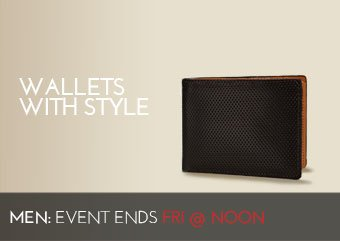WALLETS WITH STYLE
