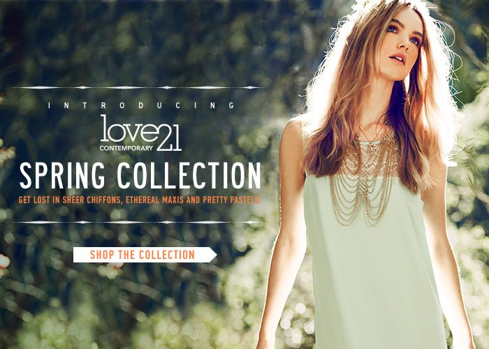 Introducing The Love 21 Spring Collection - Shop Now