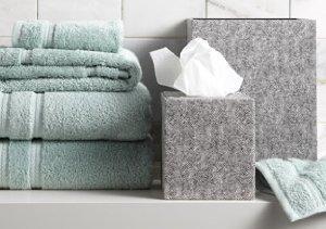 Bath Towels & Accessories featuring Gail DeLoach