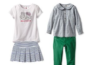 Casual Cool: Girls' Tops, Pants & Skirts