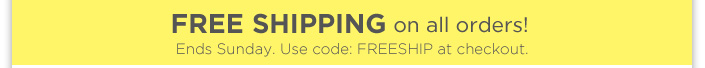 New sandals have just arrived + Free Shipping ends Mon. Use code: FREESHIP