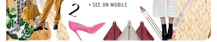 The April Hitlist - See on Mobile