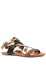 The Midnight Sandal in Bronze