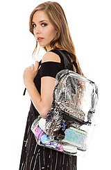 The Transparent Backpack