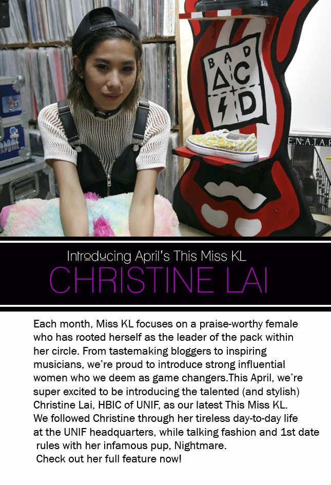 See who is this month's Miss KL!
