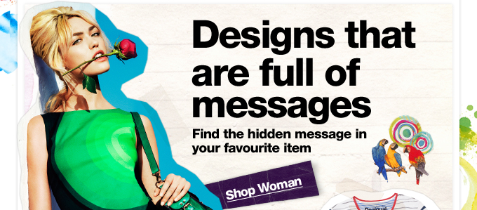 Designs that are full of messages