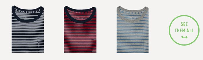 Francis Striped Tee