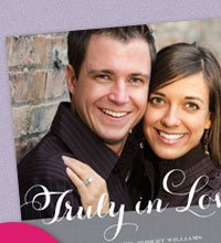 Truly In Love Photo Invitation