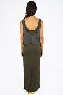 Ellie Tiered Maxi Dress $33