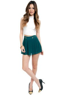 Kylie Pleated Shorts $36