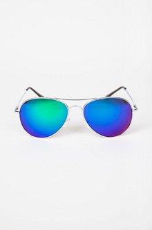 Reflective Aviator Sunglasses $12