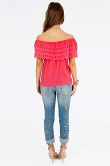 Carrie Crochet Top $35