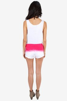 Soley Ombre Shorts $26