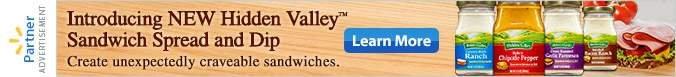 Hidden Valley Sandwich Spread