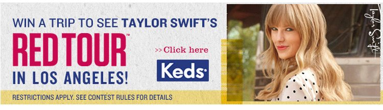 Win a Chance to See Taylor Swift in LA!