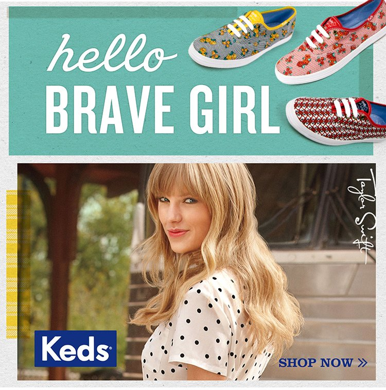 Introducing the Taylor Swift Keds Collection!