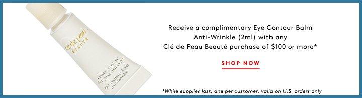 Indulge with Clé de Peau's rich eye contour treatment.