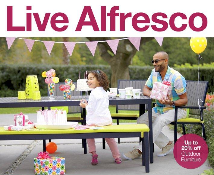 Live Alfresco