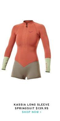kassia long sleeve springsuit