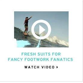fresh suits for fancy footwork fanatics. watch video.