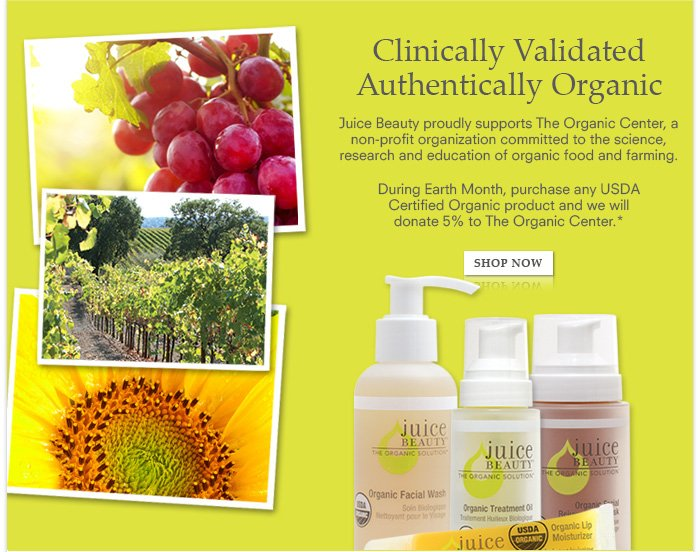 Clinically Validated, Authentically Organic
