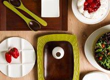 Spotlight On White & Wood Serveware