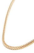 <b>Premium</b><br />The Franco Necklace in Gold