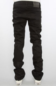 <b>Naked & Famous</b><br />The Skinny Guy Jeans in Black Power Stretch Wash