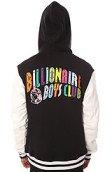 <b>Billionaire Boys Club</b><br />The Spectrum Varsity Jacket in Black