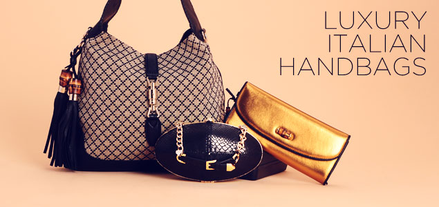 Luxury Italian Handbags: Gucci, Prada, Versace & more