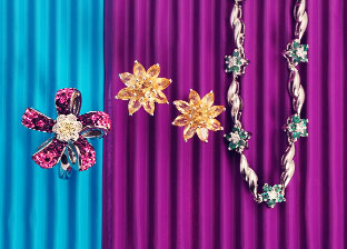 Spring Trend: Floral Jewelry
