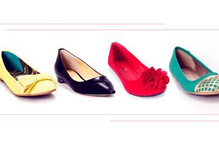 Flats by Ivanka Trump, Qupid, Bertalini & more