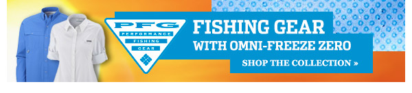 FISHING GEAR WITH OMNI-FREEZE ZERO
