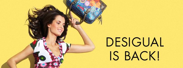 DESIGUAL IS BACK!