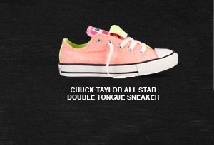 CHUCK TAYLOR ALL STAR DOUBLE TONGUE SNEAKER