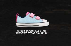 CHUCK TAYLOR ALL STAR KIDS TWO STRAP SNEAKER