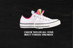 CHUCK TAYLOR ALL STAR MULTI TONGUE SNEAKER
