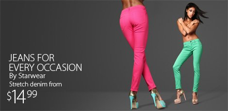Jeans for every occasion by Starwear
