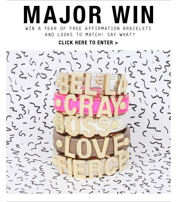 MAJOR WIN! Click Here To Enter