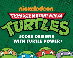 Score designs with Turtle Power